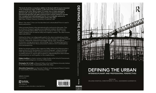 Book cover - Defining the Urban: interdisciplinary and professional perspectives