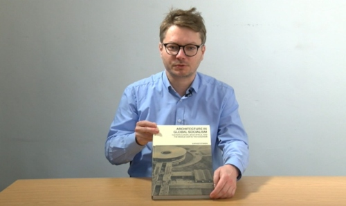 video still of Dr Lukasz Stanek.